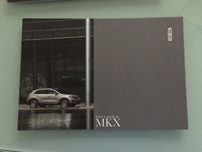 2017 Lincoln MKX 24 Page Sales Brochure