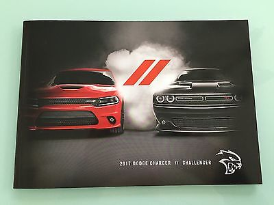 2017 Dodge Charger // Challenger 34 Page Sales Brochure - Inc 707 HP SRT Hellcat