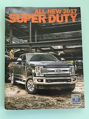 2017 All New Ford Super Duty 48 Page Sales Brochure