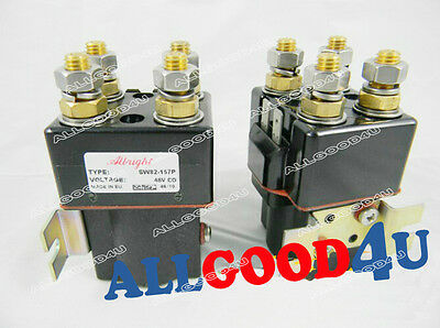 DC contactor SW82-157P for electric forklift Golf Cart 48V 100A Albright