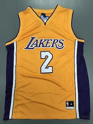 Los Angels Lakers Lonzo Ball Jersey Gold Home Color