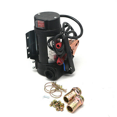 DC 12V Portable Oil Diesel Fluid Transfer Pump Electric Extractor 175W 50L/min