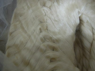 Silk Tussah tops 50/100/150gms spin dye felt natural paper making