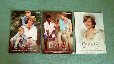 3X Herald Sun Booklets - The Diana Legacy (Books 1,5,7)