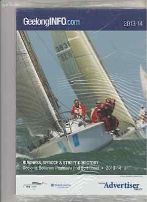 Geelong Info Pages Business, Service & Street Directory 2013/2014 Book