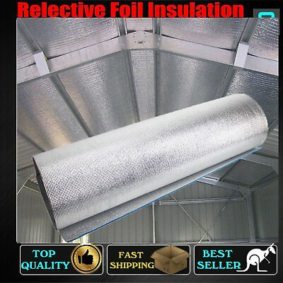 Eco-Friendly XPE Foam Reflective Foil Insulation Materials Steel Frame Anti-heat