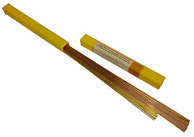Oxyturbo portable gas welding and brazing filler rods mixed pack of 60