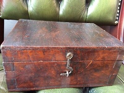 Antique Vintage Military Box