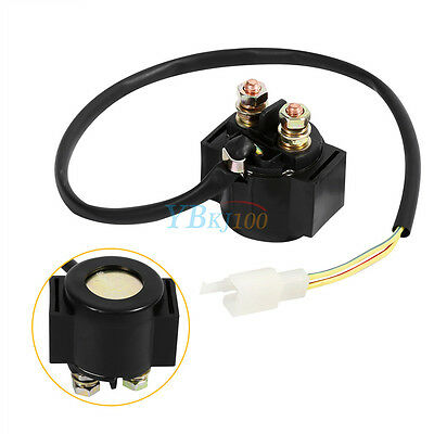 Starter Relay Solenoid 12V For Chinese GY6 Scooter Moped ATV 50cc 125cc 150cc AP