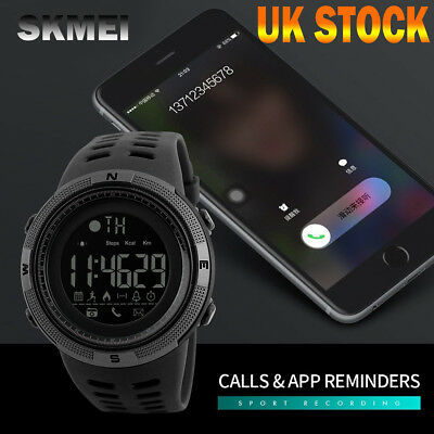 SKMEI Smart Watch Sport Quartz Wrist Men Analog Digital Waterproof Military