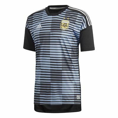 Argentina Adidas Home Pre-Match Shirt 2018/19 (Adults)-Large