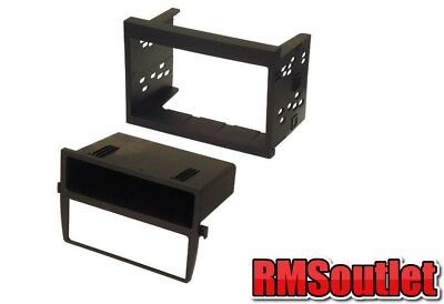Porsche Boxster 986 Double Din Stereo Fitting Kit and AC heater relocation panel