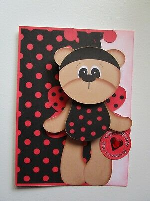 handmade cards...You're my Little Love Bug/valentines
