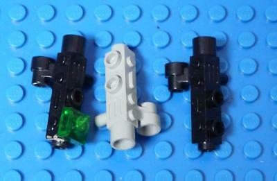LEGO Minifig, Utensil Camera with Side Sight Space Gun Assorted x3PC