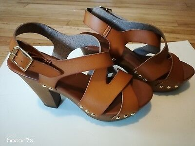 63dfdbdb6b8 Mossimo Supply Co platform sandals womens leather sandals studded sandals