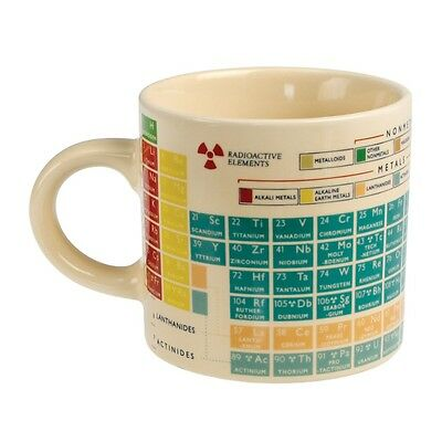 Rex London PERIODIC TABLE OF THE ELEMENTS CERAMIC MUG