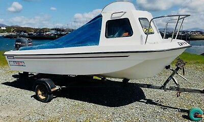 SEAHOG – SHORTIE 15ft FISHING BOAT PACKAGE FOR SALE - SOLD
