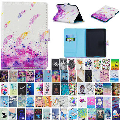 For Amazon Kindle Paperwhite 1 2 3 Painted Smart Magnetic Leather Case Cover