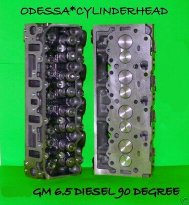 2 Gm Chevy 6.5 Diesel(90°) Angle Cylinder Heads #567 Rebuilt