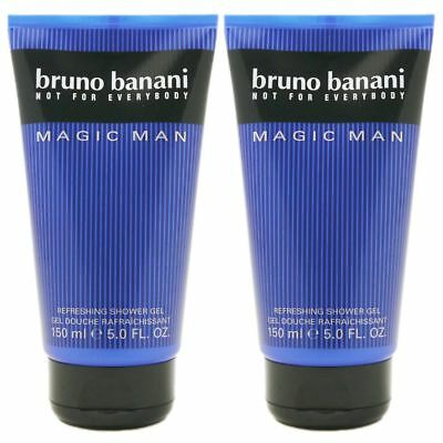 Bruno Banani Magic Man - Men 2 x 150 ml Showergel Duschgel Shower Gel Set