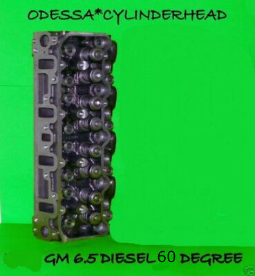 1 Gm Chevy 6.5 Diesel(60°) Angle Cylinder Head #567 Rebuilt