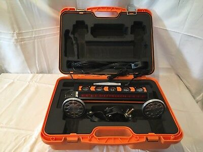 Johnson Level Machine Mountable 360deg Laser Detector with Clamp and Magnet