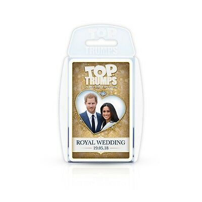 Harry and Meghan's Royal Wedding Top Trumps Card Game