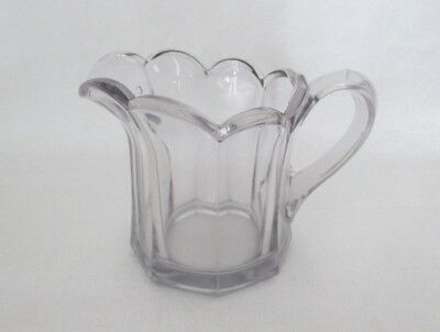 Sun Purple Antique Glass Creamer Pitcher w/ Handle EAPG?