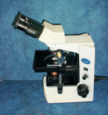 Olympus CX-31 CX31RBSF Binocular Biological Microscope w/3 Objectives #12