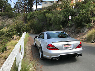 2004 Mercedes-Benz SL-Class  Mercedes SL600 SL65 15k Miles R230 Silver Red BEST IN USA  Twin Turbo V12 VIDEO