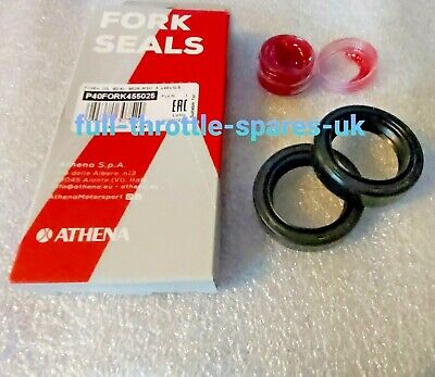 Kawasaki S1 250 A/b/c 71-75 Fork Oil Seals With Fitting Grease 34X46X10.5 Ar3401
