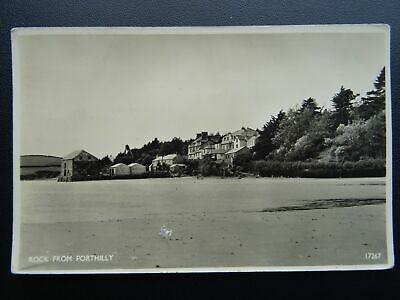 Cornwall ROCK from PORTHILLY c1950's RP Postcard by J. Salmon 17267