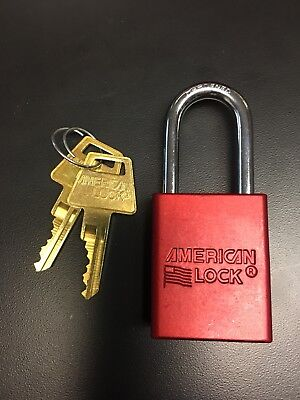 American Lock 1106 NEW IN BOX LOCK - BYPASS WAFER INSTALLED - KEYED DIFFERENT