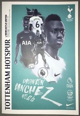 Tottenham Hotspur (Spurs) v Newcastle United Programme 9th May 2018