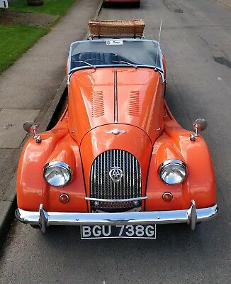 Morgan 4/4 Competition Tourer 4-Seater 1969 A Stunner That Must Be Seen