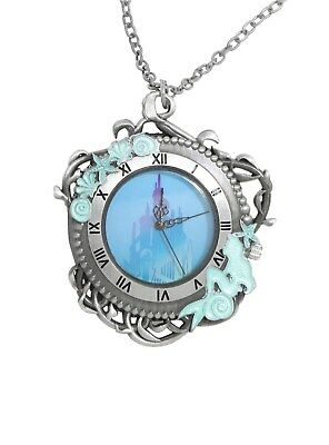 Disney The Little Mermaid Triton's Palace Pocket Watch Necklace Ariel NWT