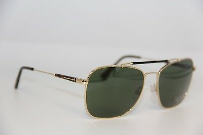 d6592dc53be08 NEW TOM FORD Tf 377 28R Edward Gold Sunglasses Authentic Tf377 58-17 ...