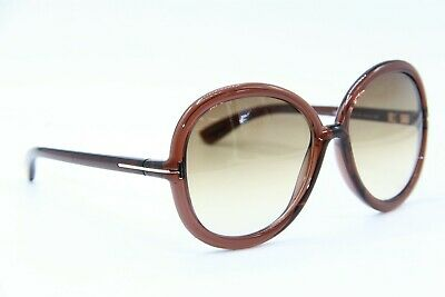 7d35cb7c295 Tom Ford Tf 276 50F Candice Brown Gradient Sunglasses Authentic 59-16 W case