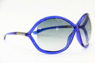 3c87b2f9cc New Tom Ford Tf 9 90B Whitney Gradient Blue Sunglasses Authentic 64-14 W