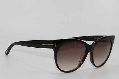 New Tom Ford Tf 330 03B Saskia Black Gradient Sunglasses Authentic 57-14 W  26ddb479e3d3