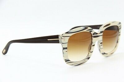 a309c7f96f192 New Tom Ford Tf 279 25F Christophe Marble Sunglasses Authentic 53-23 W case