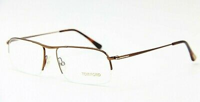 e889be2e8032 Brand New Tom Ford Tf 5211 048 Brown Eyeglasses Authentic Rx Tf5211 55-17 !