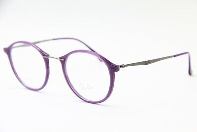 51d9e4d1b9 Ray-Ban Rb 7073 5617 Purple Eyeglasses Rb7073 Authentic Frame Rx 47-21