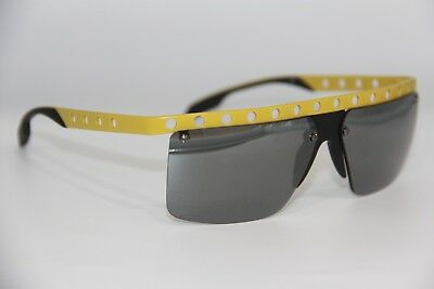 270e52dccd1 New Prada Sunglasses Pr 50R Gkd-7W1 Yellow Authentic Sunglasses Pr50R 62-12  !