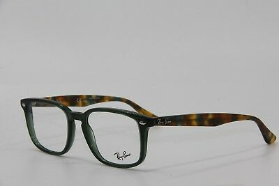 61a83e439e New Ray-Ban Rb 5353 5630 Green Eyeglasses Authentic Frame Rx Rb5353 52-19