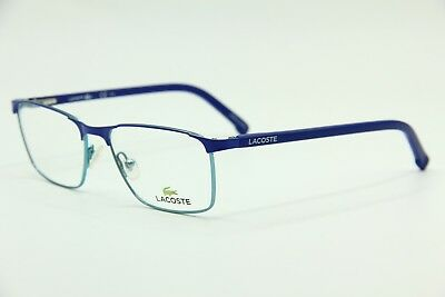 444943f8c45 NEW LACOSTE L2775 424 55mm DARK BLUE SQUARE EYEGLASSES OPHTHALMIC Rx ...