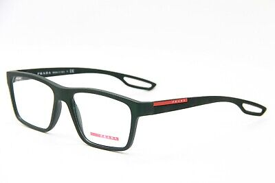 e88c769e56ce NEW PRADA PS 07F UAQ-1O1 DARK GREEN EYEGLASSES AUTHENTIC Rx PS07F 55 ...