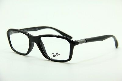 3bbd19323a2 New Ray Ban Rb 8952 5603 Black Eyeglasses Authentic Rx Rb8952 53-19!