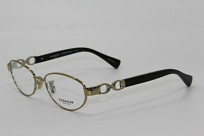 bea99fd282 New Coach Hc 5062 Stacy 9205 Gold Eyeglasses Authentic Rx Hc5062 54-16