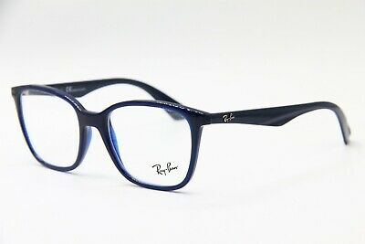 58cdac8049 NEW RAY-BAN RB 7066 5584 Blue Authentic Eyeglasses Rb7066 52-17 ...